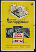 """Movie Posters:Hitchcock, Topaz (Universal, 1969). Argentinean Poster (29"""" X 43""""). Hitchcock.. ..."""