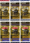 Autographs:Others, 1995 World Series Tickets/Stubs Signed by World Champion AtlantaBraves. The years of top-level play that the fans of the A...