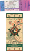 Baseball Collectibles:Tickets, 1991-99 MLB All-Star Weekend Event Tickets Lot of 3. A full ticketfrom the 1993 All-Star Game played at the new Camden Yar...
