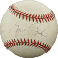 Autographs:Baseballs, George H. W. Bush Single Signed Baseball. A nicely signed ball fromour 41st President, this George H. W. Bush single signe...