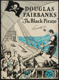 "Movie Posters:Adventure, The Black Pirate (United Artists, 1926). Program (9"" X 12"",Multiple Pages). ..."