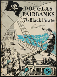 "The Black Pirate (United Artists, 1926). Program (9"" X 12"", Multiple Pages)"