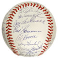 Autographs:Baseballs, New York Mets Old Timers Day Multi-Signed Baseball. Yet anothergreat orb from a New York Mets Old Timers' Day, this one wi...