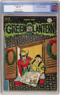 Golden Age (1938-1955):Superhero, Green Lantern #18 Mile High pedigree (DC, 1945) CGC NM 9.4 Off-white to white pages....