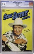 Golden Age (1938-1955):Western, Gene Autry Comics #33 Mile High pedigree (Dell, 1949) CGC NM+ 9.6White pages....