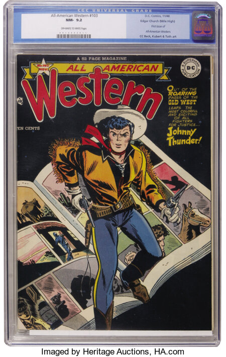 All-American Western #103 Mile High pedigree (DC, 1948) CGC NM- 9.2 Off-white to white pages....
