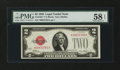 Small Size:Legal Tender Notes, Fr. 1501* $2 1928 Legal Tender Note. PMG Choice About Unc 58 EPQ.. ...