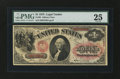 Large Size:Legal Tender Notes, Fr. 20 $1 1875 Legal Tender PMG Very Fine 25....
