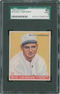 Baseball Cards:Singles (1930-1939), 1933 Goudey Billy Hargrave #172 SGC 80 EX/NM 6....