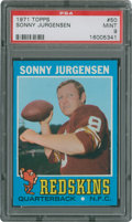 Football Cards:Singles (1970-Now), 1971 Topps Sonny Jurgensen #50 PSA Mint 9....