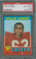 Football Cards:Singles (1970-Now), 1971 Topps Willie Lanier #114 PSA NM-MT+ 8.5....