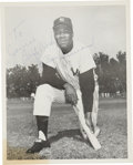 Autographs:Photos, Elston Howard Signed Photograph....