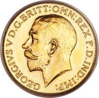 South Africa: George V gold Sovereign 1923-SA