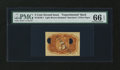 Fractional Currency:Second Issue, Milton 2E5R.1 5¢ Second Issue Experimental PMG Gem Uncirculated 66 EPQ....