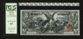 Large Size:Silver Certificates, Fr. 270 $5 1896 Silver Certificate PCGS Superb Gem New 67....