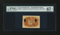 Fractional Currency:Second Issue, Milton 2E5R.1 5¢ Second Issue Experimental PMG Superb Gem Uncirculated 67 EPQ....