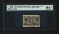 Fractional Currency:Second Issue, Milton 2E50F.1b 50¢ Second Issue Experimental PMG Gem Uncirculated 66 EPQ....