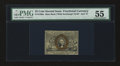 Fractional Currency:Second Issue, Fr. 1286a 25¢ Second Issue Slate Back PMG Choice About Uncirculated 55....