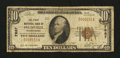 National Bank Notes:Pennsylvania, Plumville, PA - $10 1929 Ty. 1 The First NB Ch. # 7887. ...