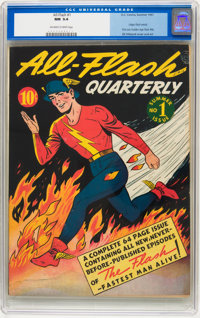 All-Flash #1 (DC, 1941) CGC NM 9.4 Off-white to white pages