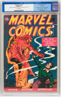 Golden Age (1938-1955):Superhero, Marvel Comics #1 Pay Copy (Timely, 1939) CGC VF/NM 9.0 Off-white pages....