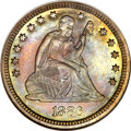 Proof Seated Quarters, 1886 25C PR67 NGC....