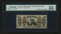 Fractional Currency:Third Issue, Fr. 1362 50¢ Third Issue Justice with James Gilfillan Courtesy Autograph PMG About Uncirculated 53 EPQ....