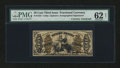 Fractional Currency:Third Issue, Fr. 1355 50¢ Third Issue Justice with James Gilfillan Courtesy Autograph PMG Uncirculated 62 Net....