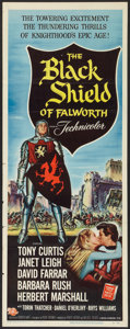 "Movie Posters:Adventure, The Black Shield of Falworth (Universal International, 1954).Insert (14"" X 36""). Adventure.. ..."
