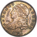 Bust Dimes, 1829 10C Small 10C MS64 PCGS. CAC....