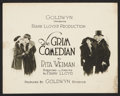 "Movie Posters:Drama, The Grim Comedian (Goldwyn, 1921). Title Lobby Card and Lobby Card (11"" X 14""). Drama.. ... (Total: 2 Items)"