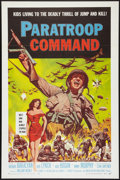 "Movie Posters:War, Paratroop Command (American International, 1959). One Sheet (27"" X41"") Flat Folded. War.. ..."