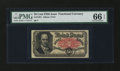 Fractional Currency:Fifth Issue, Fr. 1381 50¢ Fifth Issue PMG Gem Uncirculated 66 EPQ....