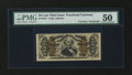 Fractional Currency:Third Issue, Fr. 1331 50¢ Third Issue with James Gilfillan Courtesy Autograph Spinner PMG About Uncirculated 50....