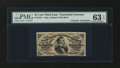 Fractional Currency:Third Issue, Fr. 1291 25¢ Third Issue with James Gilfillan Courtesy Autograph PMG Choice Uncirculated 63 EPQ....