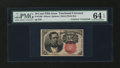 Fractional Currency:Fifth Issue, Fr. 1266 10¢ Fifth Issue with James Gilfillan Courtesy AutographPMG Choice Uncirculated 64 EPQ....