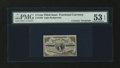 Fractional Currency:Third Issue, Fr. 1226 3¢ Third Issue with Frank White Courtesy Autograph PMG About Uncirculated 53 EPQ....