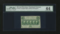 Fractional Currency:First Issue, Fr. 1313 50¢ First Issue PMG Choice Uncirculated 64....