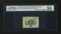 Fractional Currency:First Issue, Fr. 1242 10¢ First Issue with James Gilfillan Courtesy Autograph PMG About Uncirculated 55....