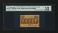 Fractional Currency:First Issue, Fr. 1281 25¢ First Issue with James Gilfillan Courtesy Autograph PMG About Uncirculated 53....