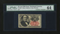 Fractional Currency:Fifth Issue, Fr. 1308 25¢ Fifth Issue with James Gilfillan Courtesy AutographPMG Choice Uncirculated 64....