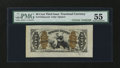Fractional Currency:Third Issue, Fr. 1343SP 50¢ Third Issue Justice Wide Margin Specimen PMG About Uncirculated 55....