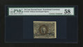 Fractional Currency:Second Issue, Fr. 1244 10¢ Second Issue with John Burke Courtesy Autograph PMG Choice About Unc 58....