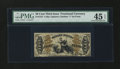 Fractional Currency:Third Issue, Fr. 1372 50¢ Third Issue Justice PMG Choice Extremely Fine 45 EPQ....