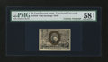 Fractional Currency:Second Issue, Fr. 1316 50¢ Second Issue with James Gilfillan Courtesy Autograph PMG Choice About Unc 58 EPQ....