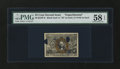 Fractional Currency:Second Issue, Milton 2E25F.6 25¢ Second Issue Experimental PMG Choice About Unc 58 EPQ....