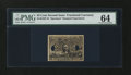 Fractional Currency:Second Issue, Milton 2E25F.3f 25¢ Second Issue Experimental PMG Choice Uncirculated 64....
