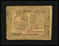 Colonial Notes:Continental Congress Issues, Continental Currency November 2, 1776 $6 Very Fine....