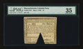 Colonial Notes:Massachusetts, Massachusetts May 5, 1780 $1 PMG Choice Very Fine 35....