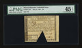 Colonial Notes:Massachusetts, Massachusetts May 5, 1780 $4 PMG Choice Extremely Fine 45 EPQ....